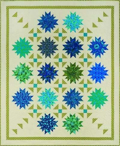 Tree Of Paradise Quilt Template Pattern by Flower Patch Quilt Pattern