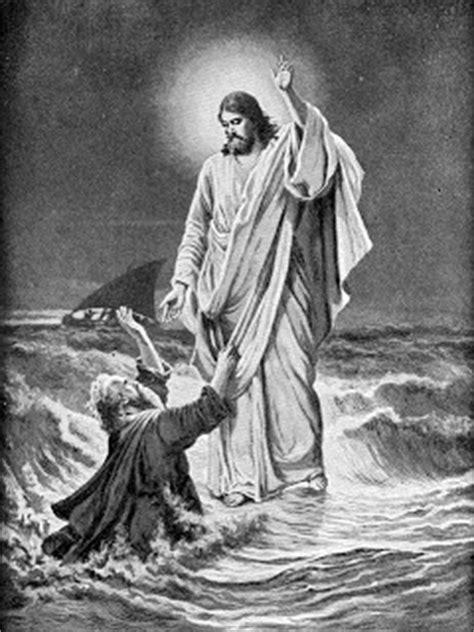matthew   verse jesus walking  water pictures