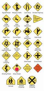Study Guide For Traffic Signs