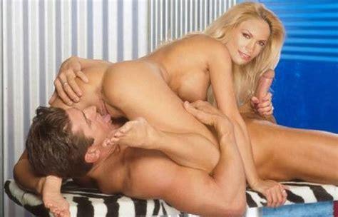 Fake Famous Celebrity Natasha Henstridge Showing Her Big