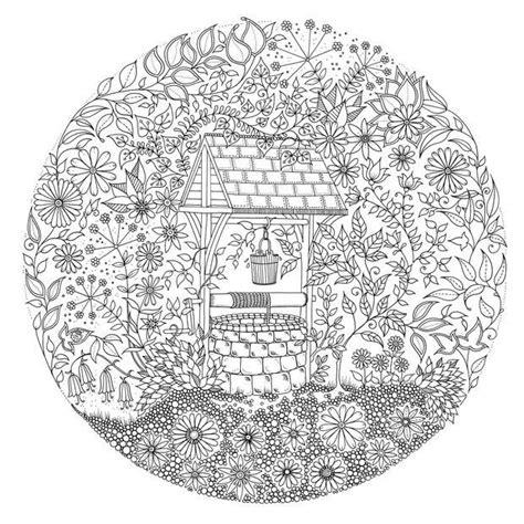 secret garden coloring book secret garden an inky treasure hunt coloring book