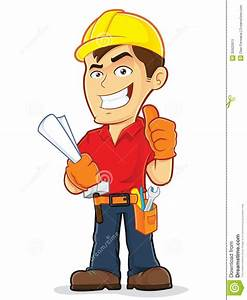 Cartoon Construction Worker Clipart - Clipart Suggest