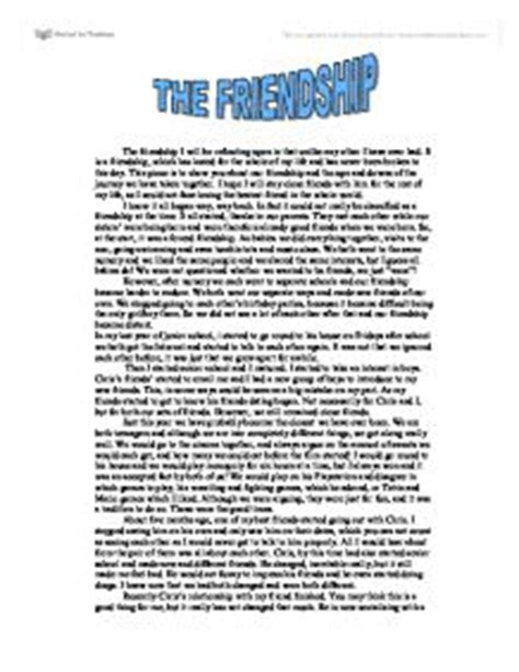 Antonyms And Synonyms Of Resume by Friendship Essay Exles Friendship Essay In Friendship Essay In Wwwgxart