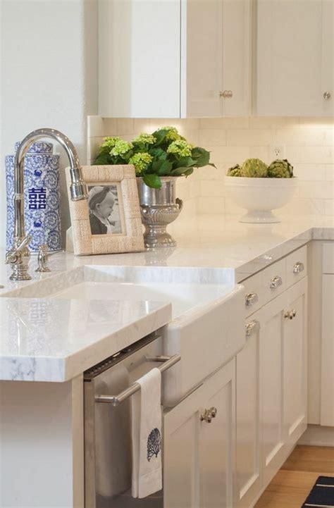küchenunterschrank mit arbeitsplatte marmor arbeitsplatte ideen f 252 r bessere k 252 chen gestaltung