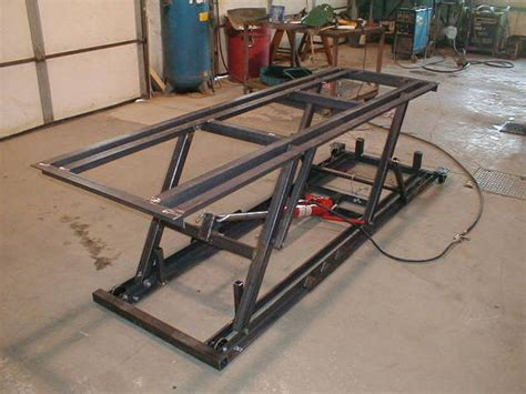 Decided it was time to make a new lift, if you would like to following several requests, i made this another video of my motorcycle lift table homemade with all diy motorcycle, scooter, lift. motorcycle lift - Club Chopper Forums