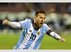 Ecuador vs Argentina Highlights & Full Match