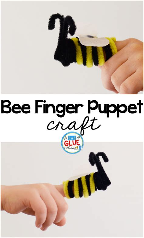 Bee Finger Puppet Template by Outstanding Bee Finger Puppet Template Ideas Resume