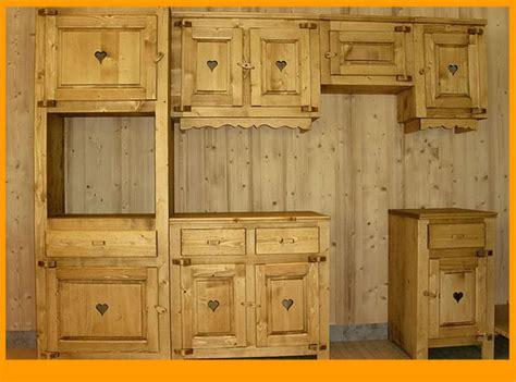 v黎ement de cuisine eco meubles de montagne meuble style savoyard