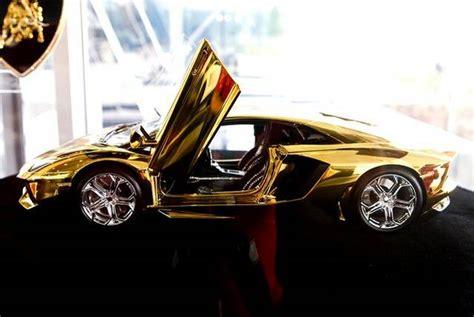 crore rupees gold lamborghini aventador awaits