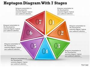 1013 Busines Ppt Diagram Heptagon Diagram With 7 Stages