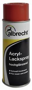 Acryl Für Aussen : albrecht acryl lackspray hochgl nzend f r innen au en ral 9010 reinwei 400 ml ~ Frokenaadalensverden.com Haus und Dekorationen