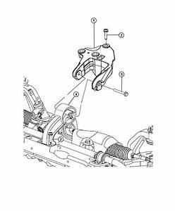 2008 Dodge Avenger Bracket  Engine Mount  Rear