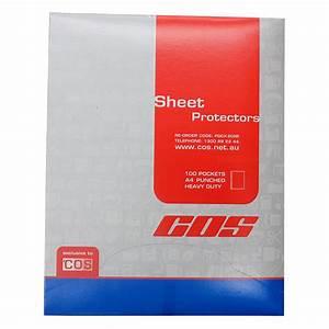 cos a4 sheet protectors heavy duty cos complete office With heavy duty document protectors