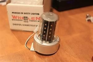 Whelen 28v Led Red Beacon Light   Parts