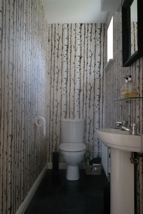 wallpaper  small toilet gallery