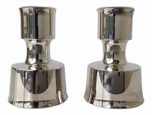 jens quistgaard silverplate candle holders a pair chairish With kitchen cabinet trends 2018 combined with silver antique candle holders