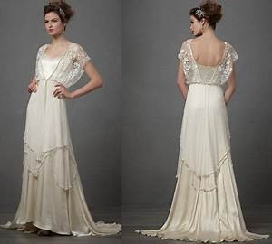 1920s style wedding dresses With flapper style wedding dress