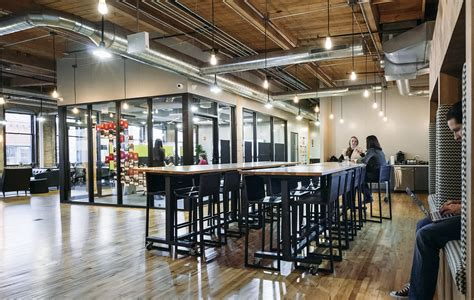 Office Space Chicago by A Look Inside Industrious Chicago Coworking Space