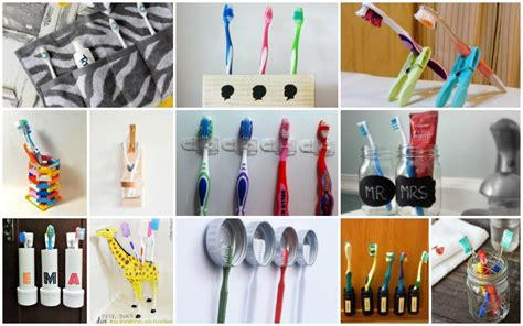 creative diy toothbrush holders   whip    time