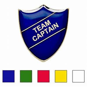 TEAM CAPTAIN BADGE (shield)