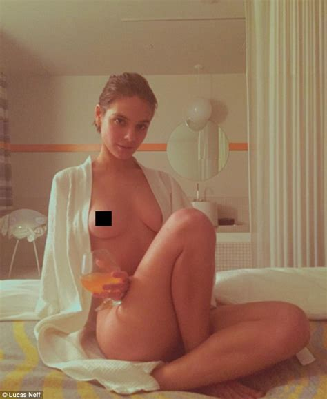 Caitlin Stasey Flouts Instagram Rules As She Uploads Another Topless Picture Of Herself Daily