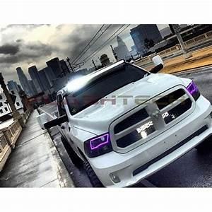 Dodge Ram Sport V 3 Fusion Color Change Led Halo Headlight