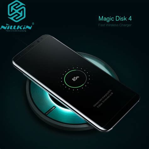 samsung s7 wireless charging nillkin magic disk 4 portable qi fast wireless charger charging pad for samsung galaxy s8 s8