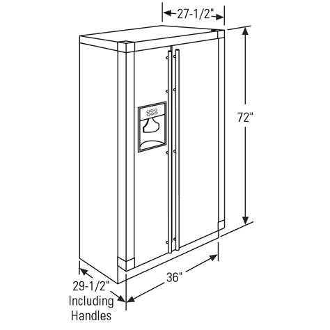 zfsbdxss ge monogram  standing side  side refrigerator  monogram collection