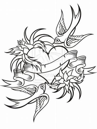 Tattoo Drawings Tattoos Drawing Heart Rose Hearts