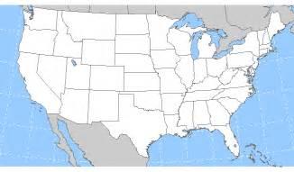 Blank US Maps United States
