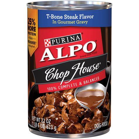 alpo chop house  bone steak flavor  gourmet gravy dog