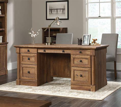 sauder 420604 palladia executive desk the furniture co