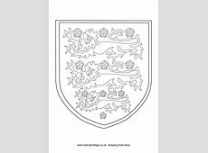 Three Lions colouring page Sca Crafts Pinterest