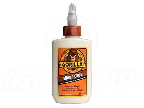 gorilla colle 192 bois 118ml eau r 233 sistance pva adh 233 sif