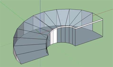 parking ramp curve  skp model  sketchup designs cad