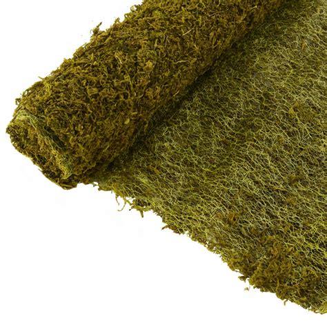 20 quot green sheet moss roll 48 quot tt662909 craftoutlet com