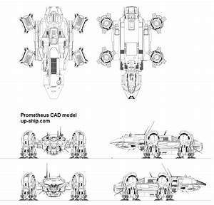 Pin Prometheus Spaceship Aircraft Movie Ridley Scott Alien ...