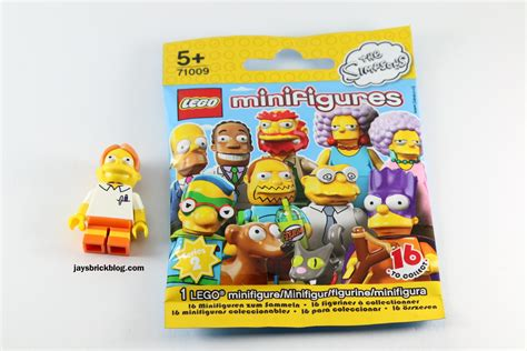 lego blind bags review lego simpsons minifigures series 2