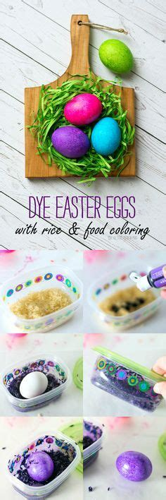 dying easter eggs with food coloring dye easter eggs with cool whip and food coloring