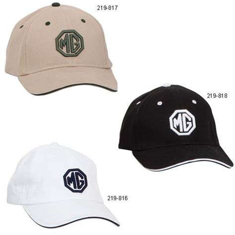 Sports Car Hats by Mg Puff Embroidered Hats Sports Car Apparel