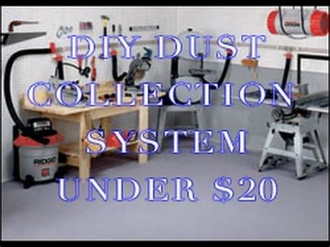 diy dust collector simple