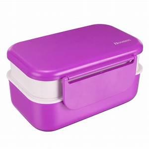 Bento Box Brotdose : homdox bento lunch box brotdose brotbox fr hst cksdose ~ A.2002-acura-tl-radio.info Haus und Dekorationen