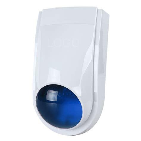 new 12 v ls 111 outdoor security siren strobe alarm