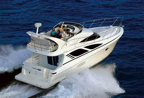 The Open Boat The Cook by Research 2011 Silverton Yachts 38 Sport Bridge On