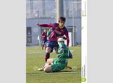 Women Football Match FC Barcelona Vs Levante Editorial