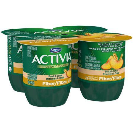 activia peach fiber yogurt nutrition besto blog