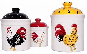 [ Rooster Kitchen Canisters Products Canisters ] - Best