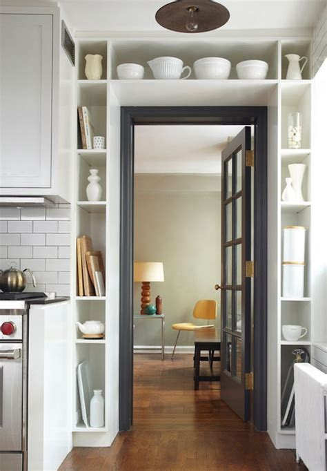 wall storage for small spaces doorway wall storage solution for small spaces 9 digsdigs