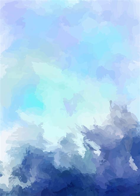 art vector blue background fresh ink watercolor blue art