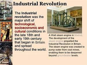 The Industrial Revolution Presentation